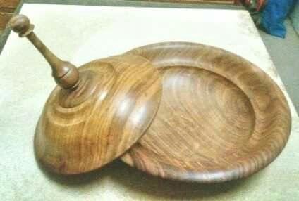 Sheesham wood bowl.