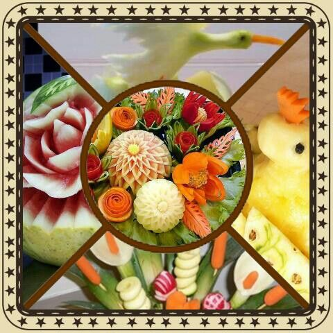 Corso intaglio frutta e verdura