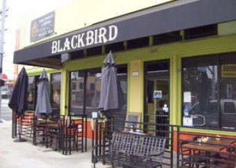 Blackbird Cafe in Long Beach.Breakfast +lunch options are dished up in this simple +snug spot with patio seating. 3405 Orange Avenue Long Beach, California Distance from venue: 15 minute drive Price: $