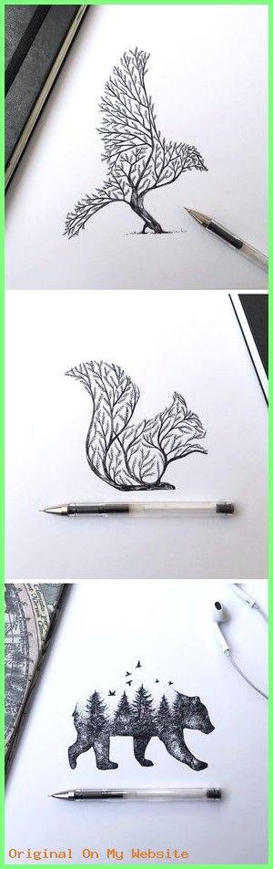 Zeichnungen Bleistift – Baumtiere #zeichnen #bleistiftzeichnungennatur #bleistiftzeichnungen…
