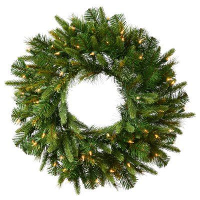 Best 25+ Pre lit christmas wreaths ideas on Pinterest | Unique ...