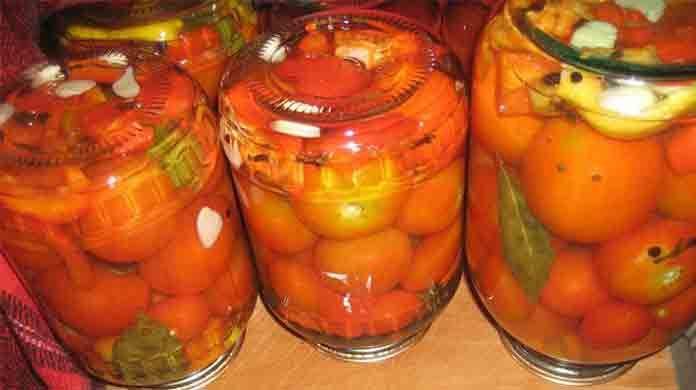 Маринованные помидоры сладко-острые | Готовим рецепты