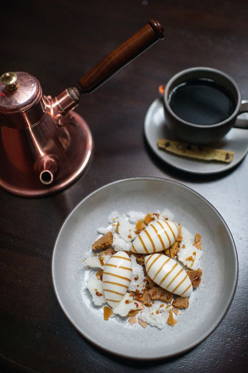 Milk and Honey Dessert - The NoMad Restaurant, NYC by Daniel Krieger