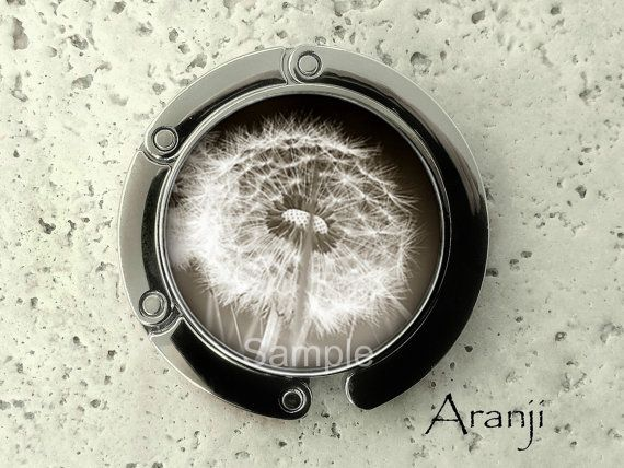Dandelion purse hanger tabletop purse hanger purse by Aranji