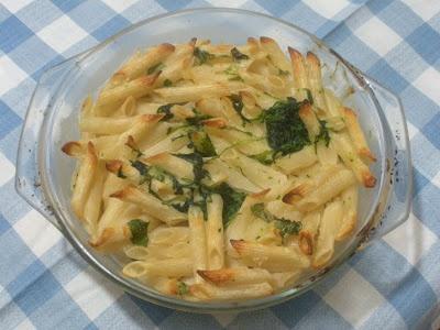 Ricette senza Nichel: PASTA AL FORNO BESCIAMELLA E RUCOLA nichel free   recipe   italian food
