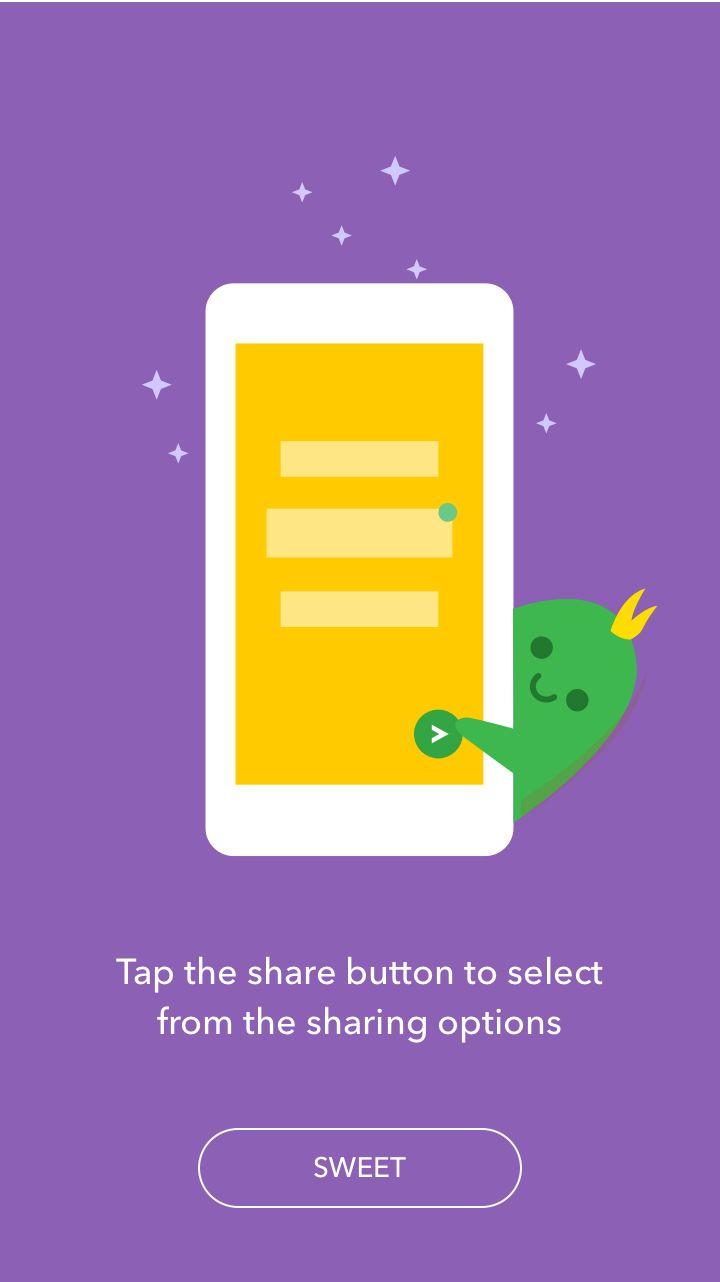 ZappShare - Android GIF – Interaction by Ramakrishna V