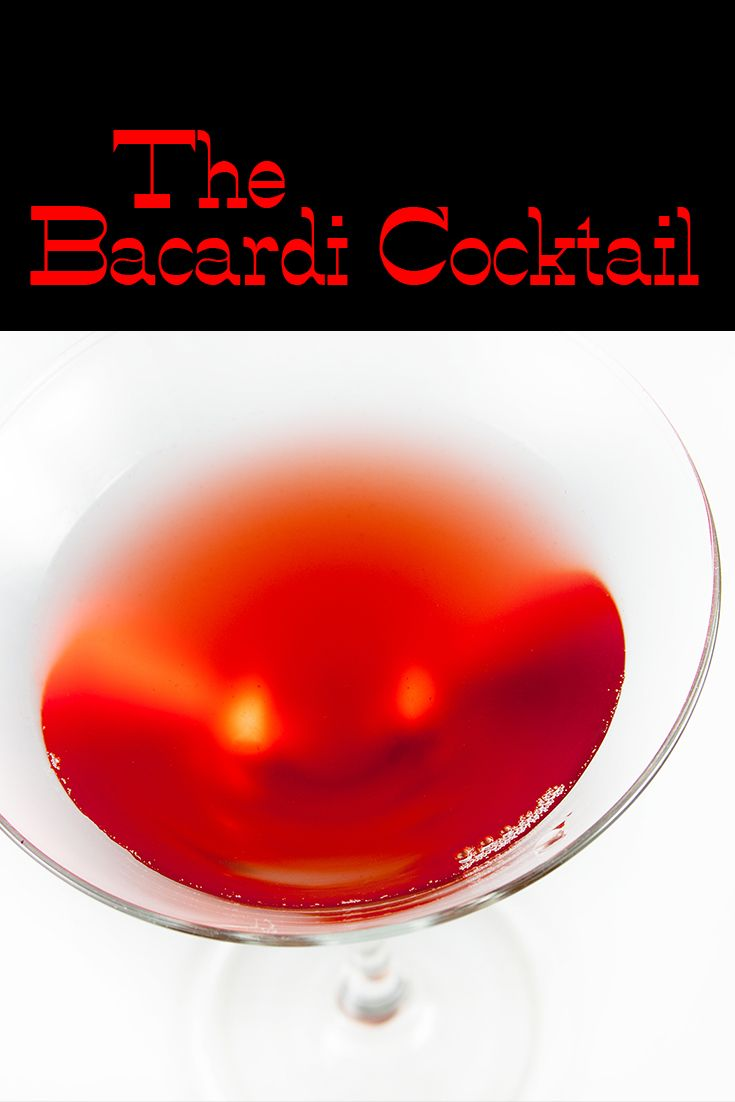 A true throwback, this easy fruit cocktail helped make Bacardi the rum it is today. Get a taste of the 'official' Bacardi Cocktail.