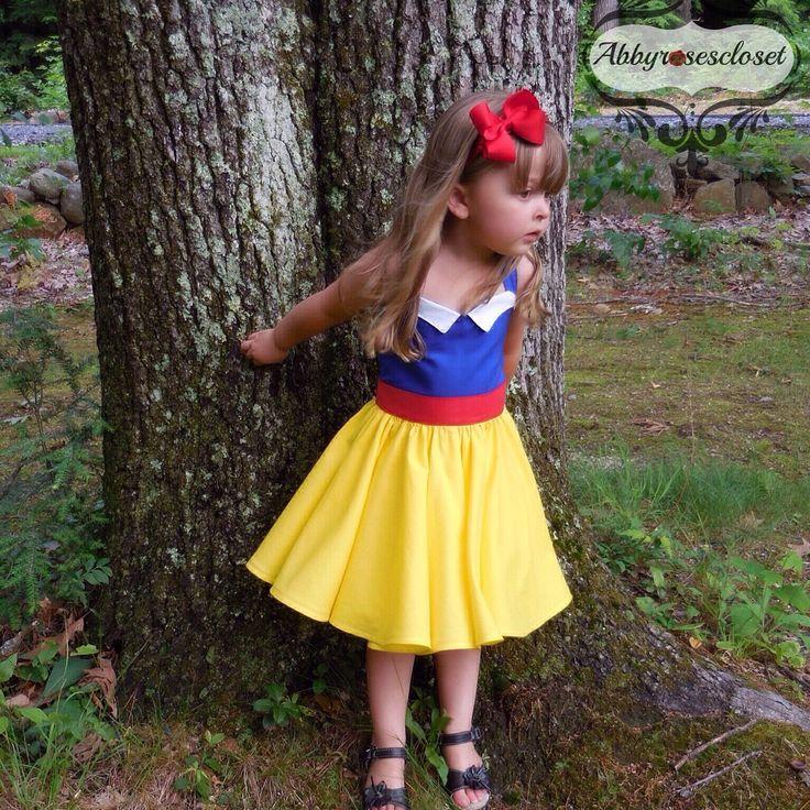 Snow white dress , Snow white's summer  dream dress, by Abbyrosescloset on Etsy https://www.etsy.com/listing/235842926/snow-white-dress-snow-whites-summer