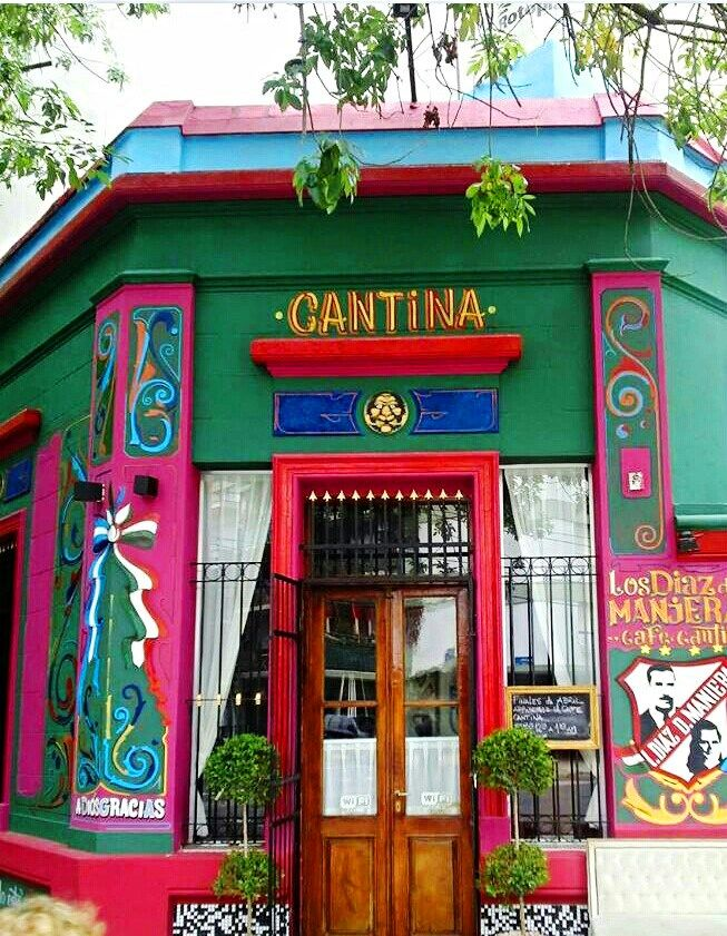 Cantina, Buenos Aires. Argentina