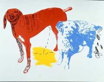 Art: Andy Warhal & Jean Michael Basquiat, 1984