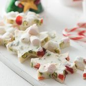 White Christmas Rocky Road Stars