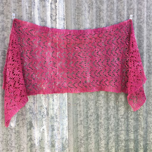 Ravelry: Kookaburra Wrap pattern by Sharyn Anhalt