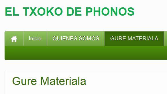 El Txoko de Phonos         http://phonosdonostia.com/wordpress/?page_id=217