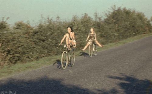 pinterest \ orionroseart #pastel #summer #bike #b…