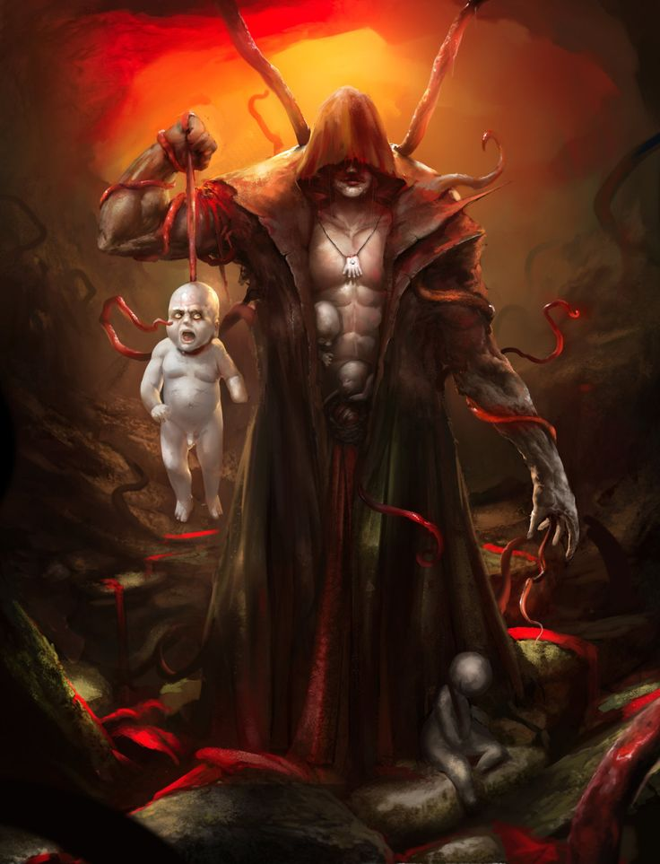 Lord of Unborn Children  by Alexander Puchkov