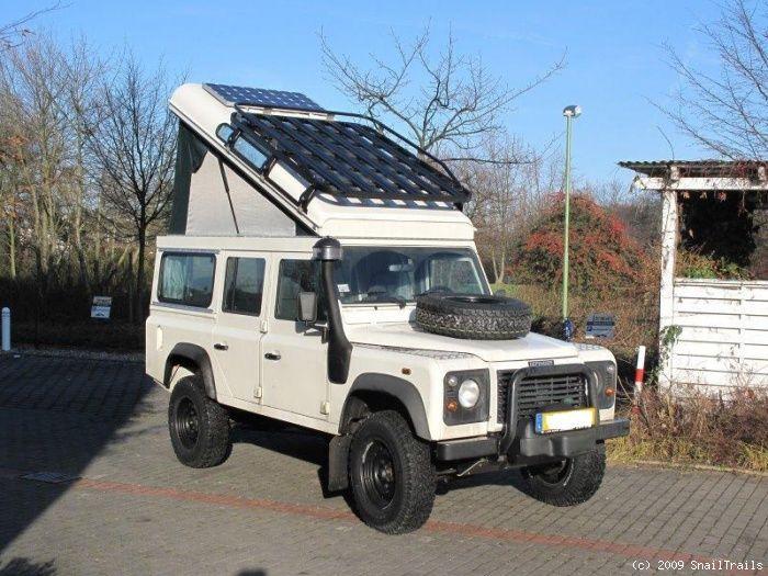 Land Rover Adventure Camper Lr Defender Camper