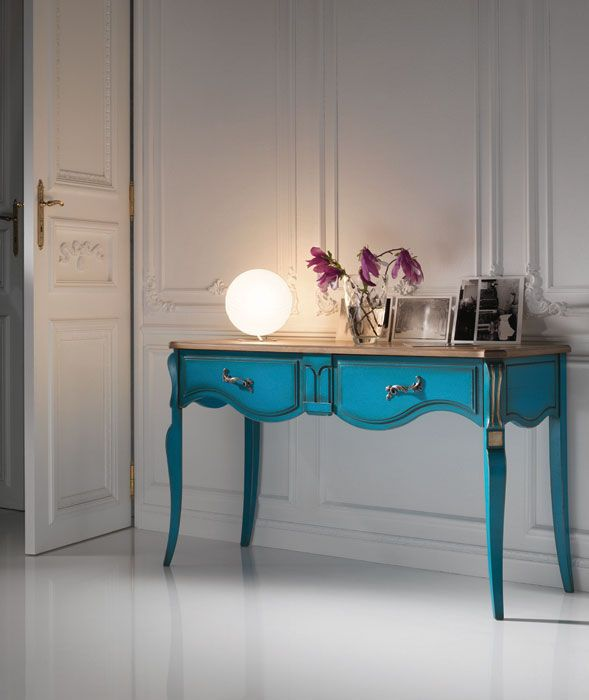Classic sideboard table / wooden / rectangular - CEZANNE ...