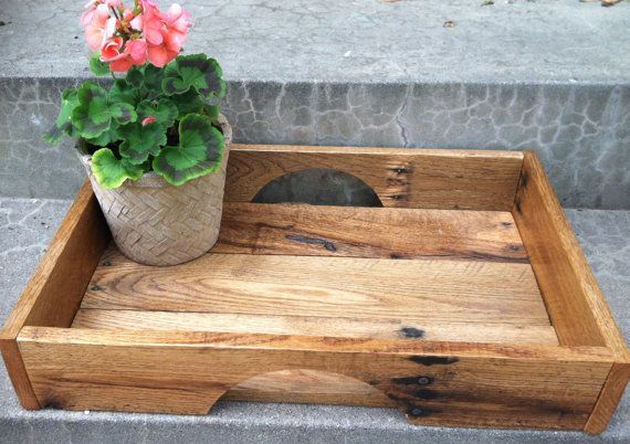 Custom built pallet trays for your coffee table, kitchen, or bar. Dimensions vary. Sanded and polyurethane finish. Request your own dimensions. 18x12 tray is $50.00.