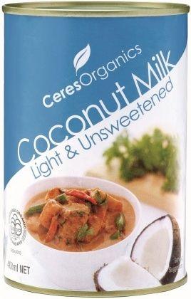 Coconut Milk Can