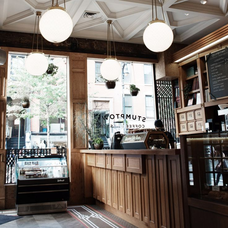 Stumptown coffee shop at 30 W 8th St, New York, NY // Bloglovin'