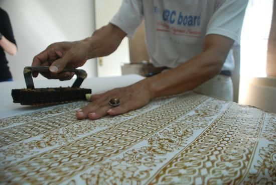 Museum Batik Danar Hadi: The making process of Batik