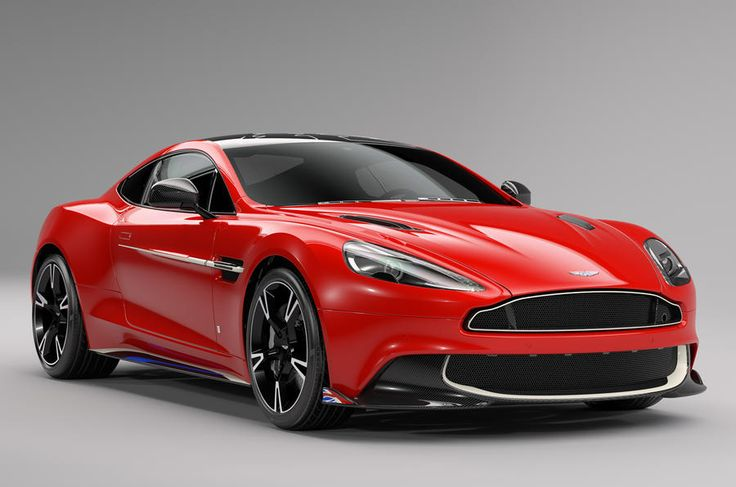 10 Special Edition #Aston_Martin_Vanquish S Red Arrows models built as a tribute to the #Royal_Air_Force_Red_Arrows squadron.