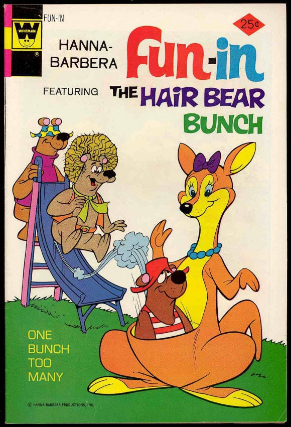 Chuck's Stuff has this Hanna-Barbera's Fun-In comic #13 for sale for $8. Very Fine- 7.5, details on site. The Hair Bear Bunch story. 1970's Whitman. Save 30% if you buy all 8 issues I have. If re-pinning, you can edit the description if you want. #comicbooks #hannabarbera