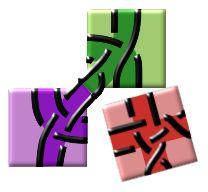 DiBL - zowel web-applicaties als InkScape-plugins om draad- of paar-tekeningen van gronden te maken of rasters om ze op te klossen