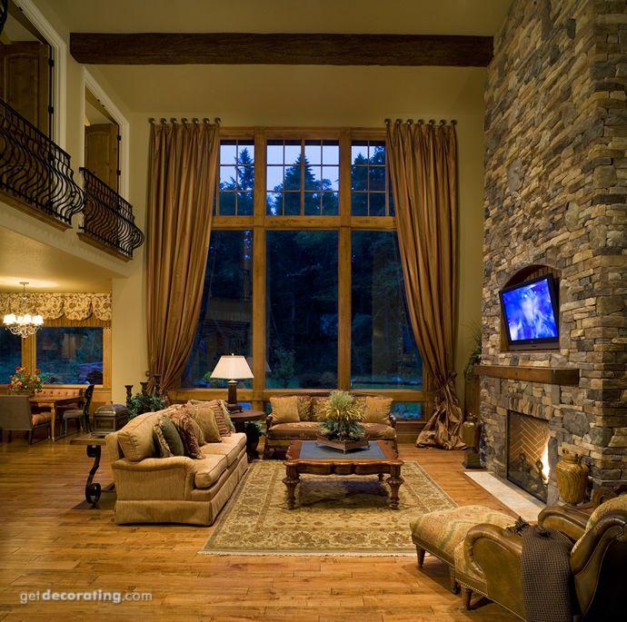 Chimenea/Hogar,Coberturas para ventanas,Salas/Livings