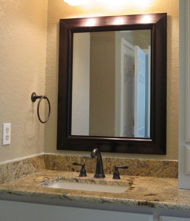 Bathroom Remodel   Granite Countertop   Light Granite   Home Decor