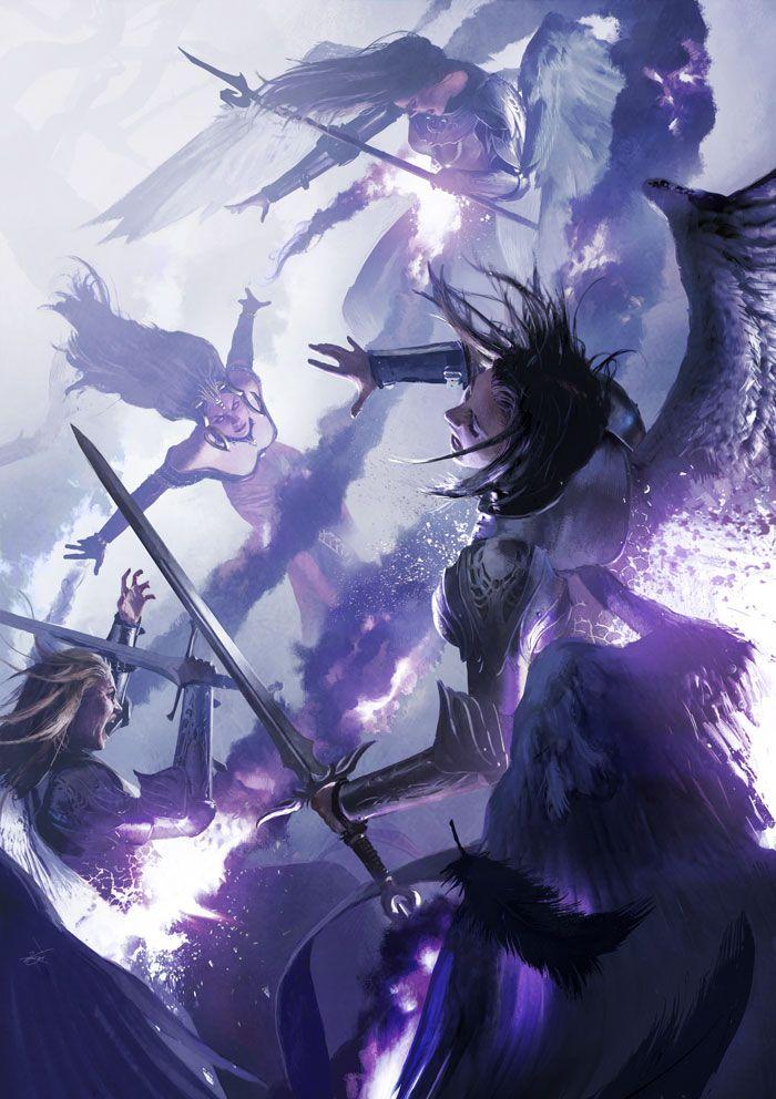 Michael Komarck Illustration - Killing Wave (2011) Art for Magic: The Gathering