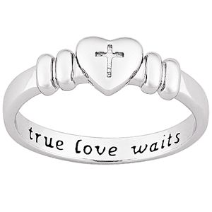 Christian+Purity+Rings | One of the many True Love Waits promise rings available for sale ...
