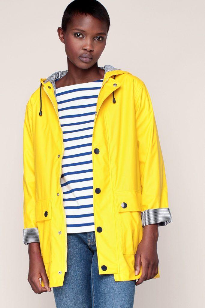 Le ciré de pluie Le Dressing Idéal | Cire jaune, Mode, Cire