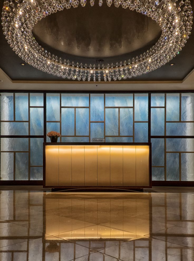 Langham Hotel: Concierge desk