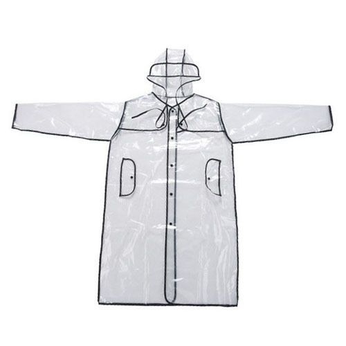 Transparent RainCoat for Women and Men Unisex Motorcycle poncho Rainwear Camping Hiking Brand Raincoat poncho