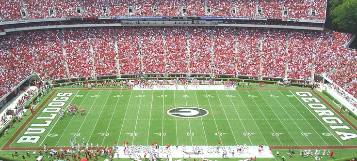 """Auction Item of the Week: UGA Football Tickets. It is said that in the South, football flows through our veins. That's certainly true of Georgia Bulldog fans! Watch the """"Dawgs"""" with 4 club level tickets to any Georgia home game during the 2013 season. Winning bidder must indicate game of choice immediately following the auction.    To preview other items up for bid at our auction on Friday, visit http://wsa.net/auction"""