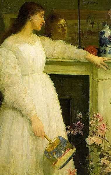 """James McNeil Whistler's """"Symphony in White No. 2: The Little White Girl"""" (1864): James Of Arci, Numbers 2, The Artists, James Abbott, Google Images, Abbott Mcneill, White Numbers, White Girls, James Mcneill Whistler"""
