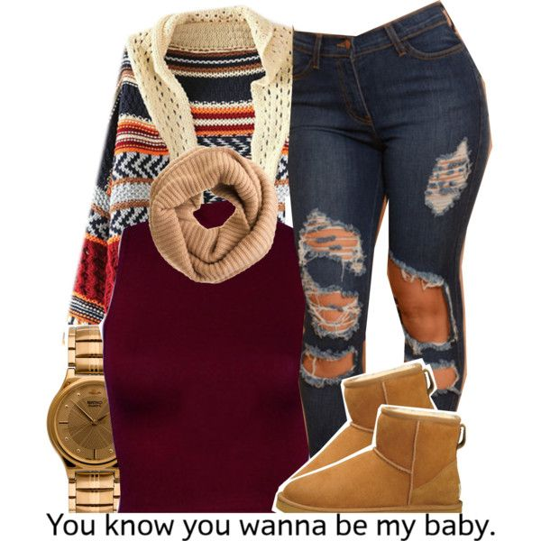 ... by trinityannetrinity on Polyvore featuring polyvore moda style UGG Australia American Apparel J.Crew