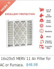 Shop from a wide collection of perfect furnace filter sizes