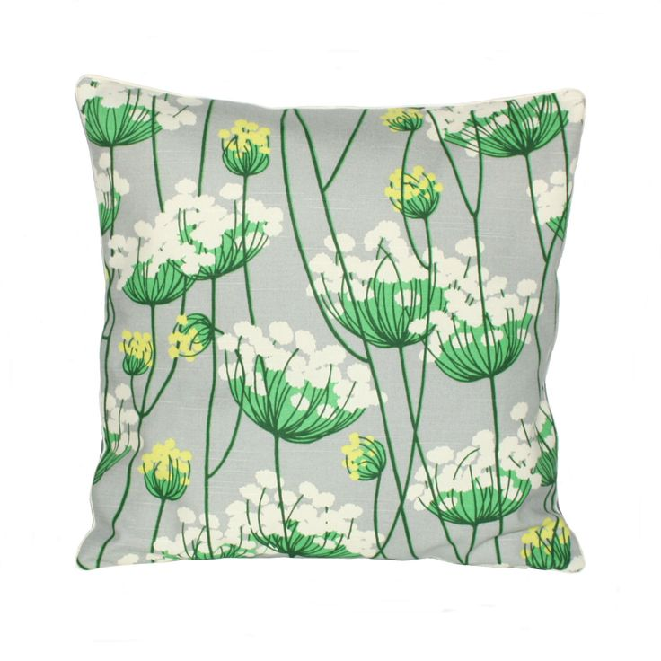 Flowers - pillow from OH HOME