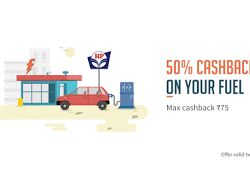 HP Petrol Pumps - Get Flat 50% Freecharge Cashback Offers