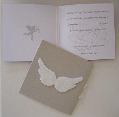 Baptême - Patron boîte ailes d'ange : Album photo - aufeminin.com