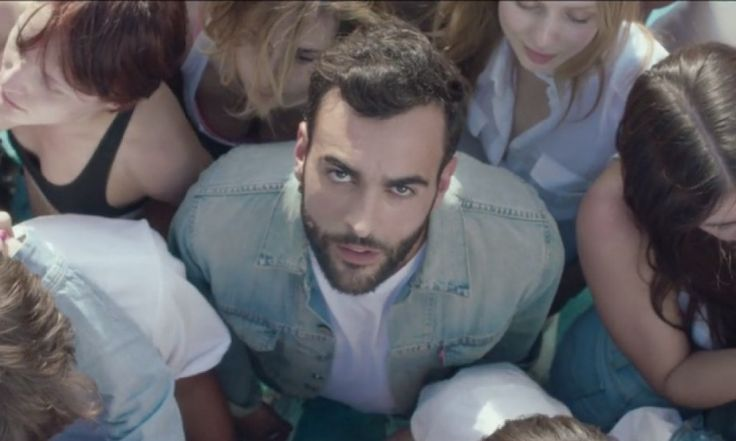 Marco Mengoni Throws Denim-Clad Summer Party for 'Io Ti Aspetto' Music Video