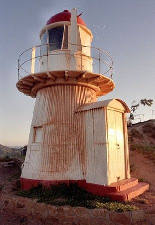 Grassy Hill Lighthouse, Queensland's Far North, Australia