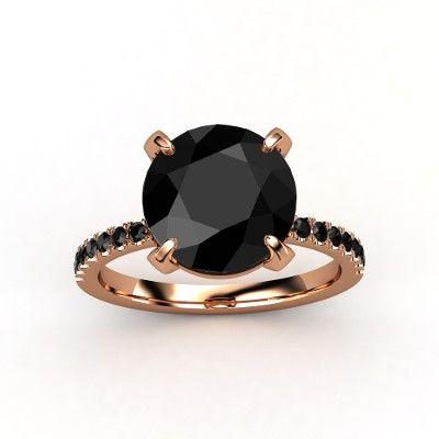 Round Black Diamond