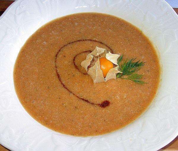 Polish Cream of Pumpkin Soup Recipe - Krem z Dyni: Polish Cream of Pumpkin Soup
