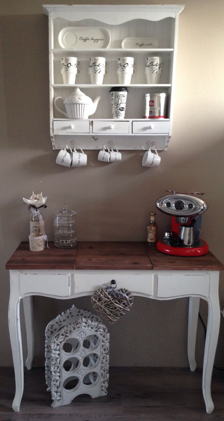 My own Riviera Maison style illy coffee bar