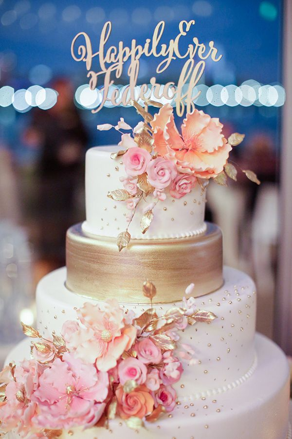 white and peach wedding cakes gray and gold wedding cakes amp dessert tables 27215