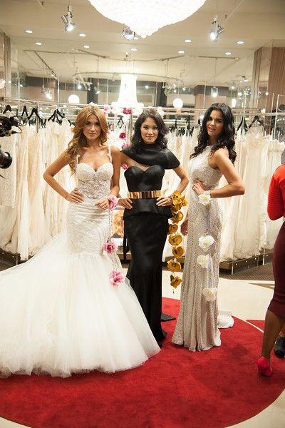 Location Bridal Reflections NYC 5th Avenue Salon Wedding Gown Dresses Galia Lahav
