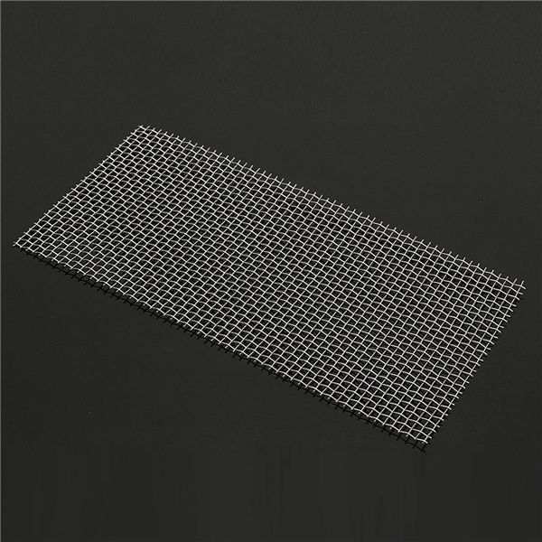 15x30cm 304 Stainless Steel 5 Mesh Filter Water Filtration Woven Wire